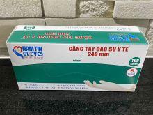 Găng tay cao su y tế 240 mm